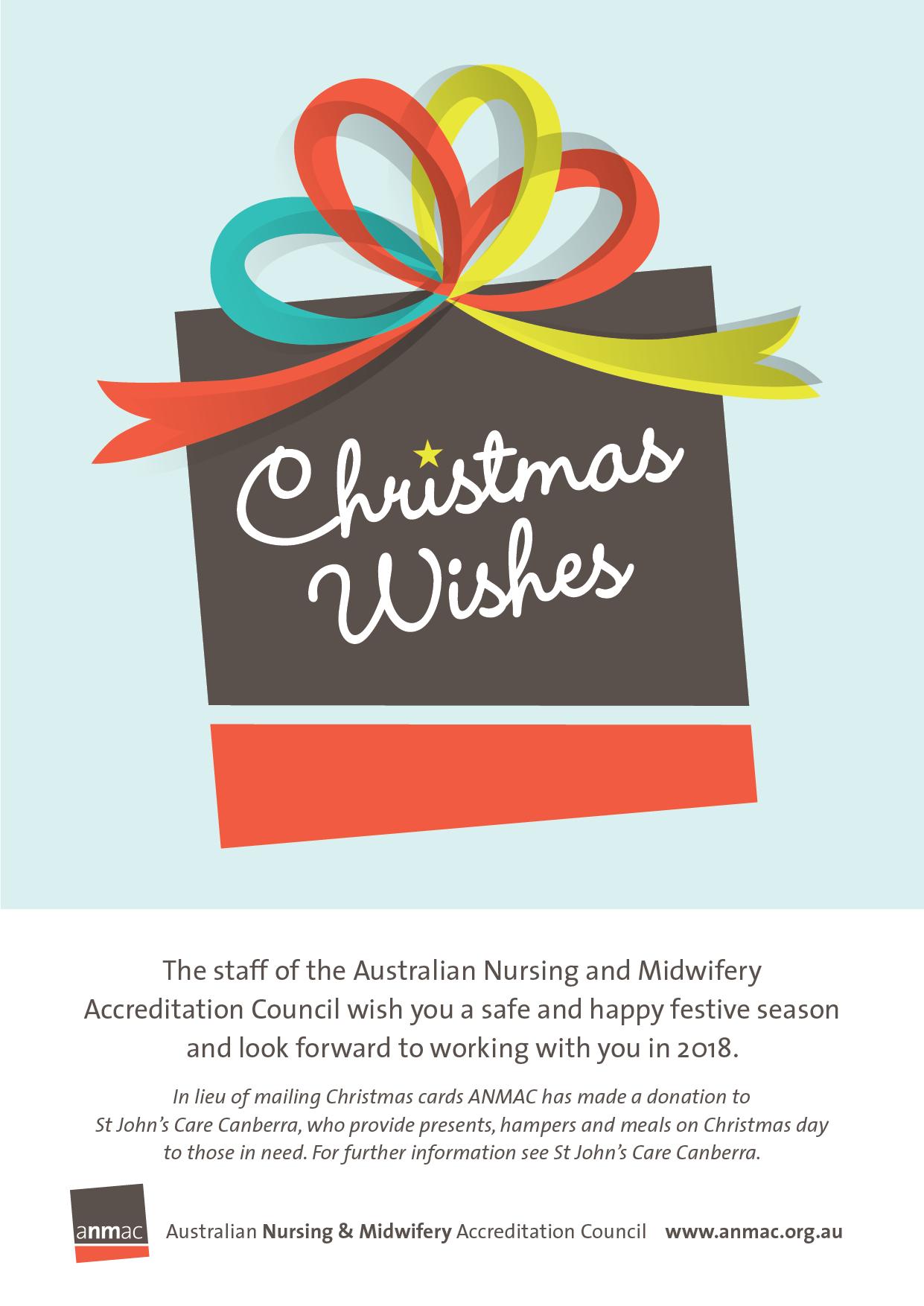 ANMAC Christmas Card | ANMAC | Australian Nursing & Midwifery ...