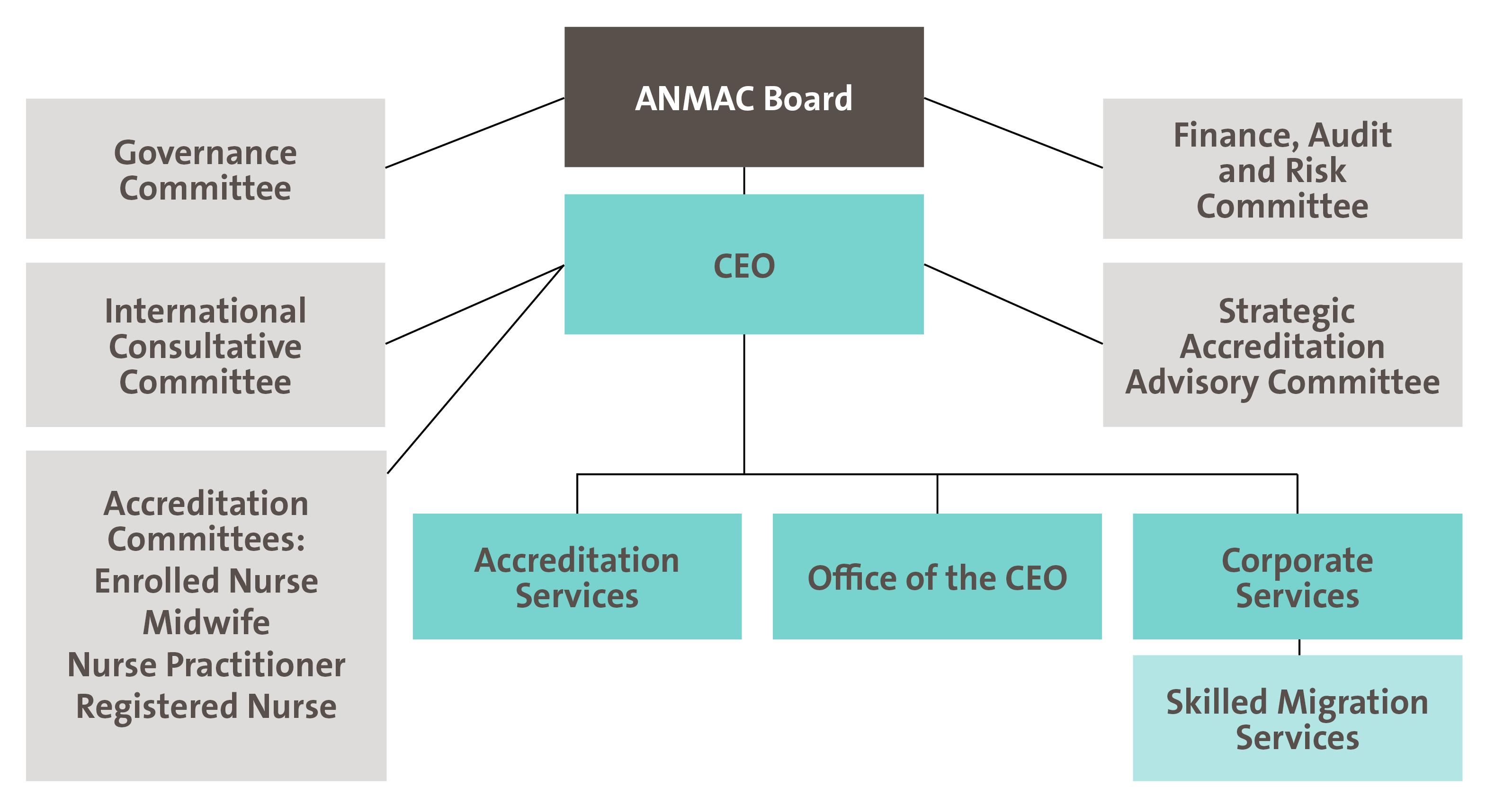 ANMAC Governance Structure